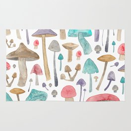 Toadstools and Mushrooms Rug