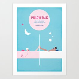 Pillow Talk Art Print