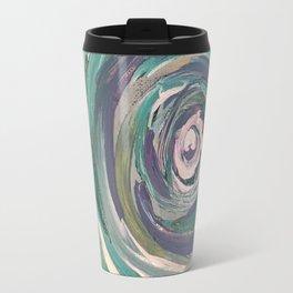 Teal Swirl Travel Mug