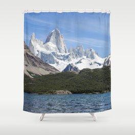 Fitz Roy Shower Curtain