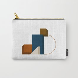 Abstrato 02 // Abstract Geometry Minimalist Illustration Carry-All Pouch