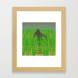 E is for Eloko Framed Art Print