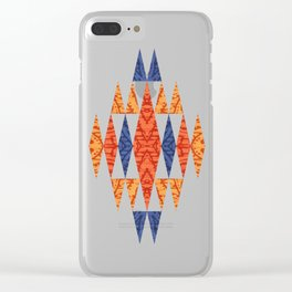 TEEPEE TOWN Clear iPhone Case