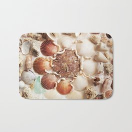 Sea Foam Sea Glass Bath Mat