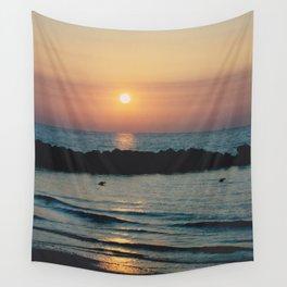 Sunset Ocean Bliss #1 #nature #art #society6 Wall Tapestry