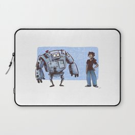A Girl and her Robot Laptop Sleeve