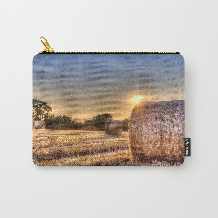 Summer Evening Farm Carry-All Pouch