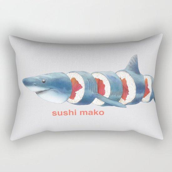 Sushi Mako (color option) Rectangular Pillow