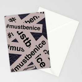 #mustbenice Stationery Cards