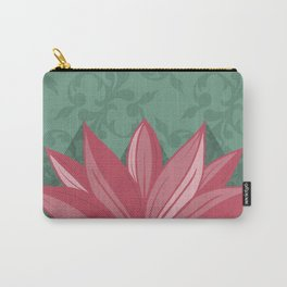 Lotus Rays Carry-All Pouch
