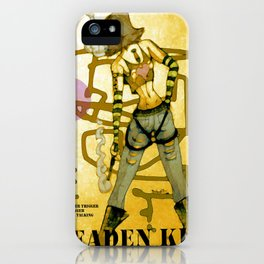 a leaden kiss goodbye iPhone Case