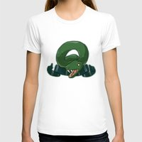 slytherin T-shirts featuring Slytherin by Clair C