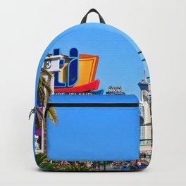 Hotels Las Vegas Strip United States of America Backpack