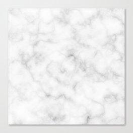 Marble White Texture Canvas Print
