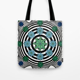 Fractal Octopus Tote Bag