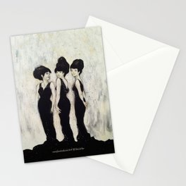 Cut from the same cloth. Stationery Cards