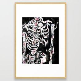 Inside the Garden Framed Art Print