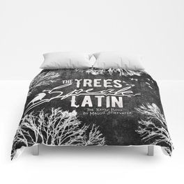The Trees Speak Latin - Raven Boys Comforters