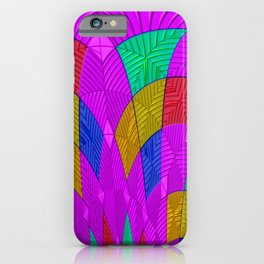 Structured glass iPhone Case