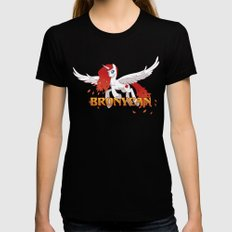 Apricity Soaring Womens Fitted Tee Black X-LARGE