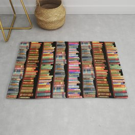 Vintage books ft Jane Austen & more Rug