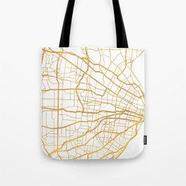 ST. LOUIS MISSOURI CITY STREET MAP ART Tote Bag