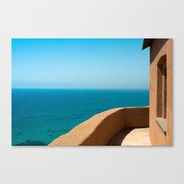 balcony in paradise Canvas Print