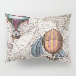 Hot Air Balloons Pillow Sham