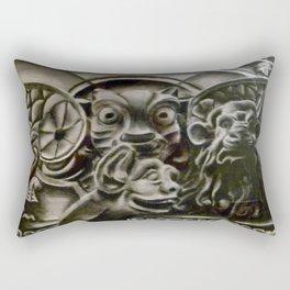 Gather the Gargoyles Rectangular Pillow