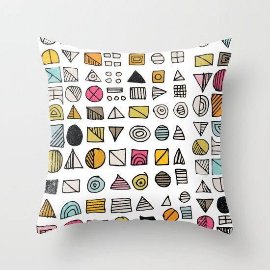 HIEROGLYPHS  Throw Pillow