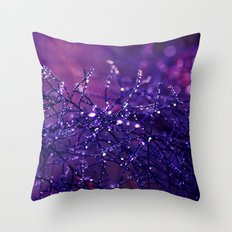 those blue mornings Throw Pillow