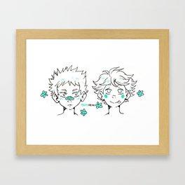 Smol Iwaoi  Framed Art Print