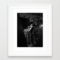 queens of the stone age Framed Art Prints featuring josh homme // queens of the stone age by Hattie Trott