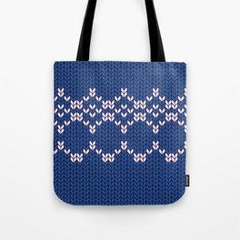 Scandinavian pattern Tote Bag