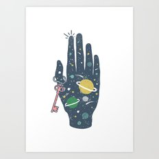 The Secret of Space Art Print