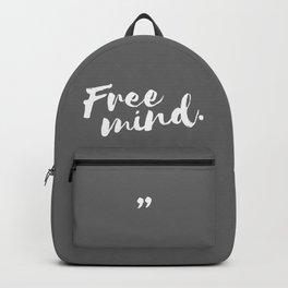 QOUTE Free Mind Backpack