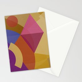 Mutt's Nuts THREE Square Stationery Cards