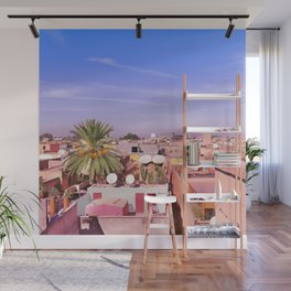 Marrakech Rooftop Wall Mural