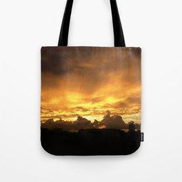 Sunset in Miramar Tote Bag