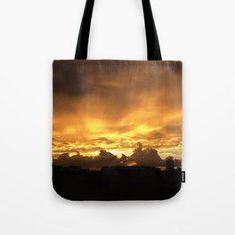 Sunset in Miramar Tote Bag