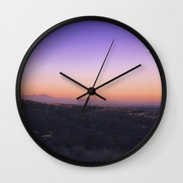 Moonlit Twilight Wall Clock