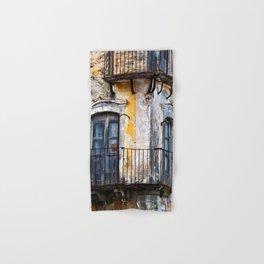 Urban Sicilian Facade Hand & Bath Towel