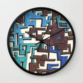 Circuitry Wall Clock