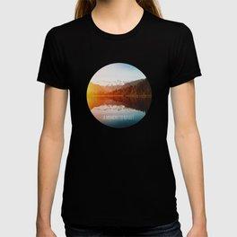 A moment to reflect [Lake Matheson] T-shirt