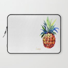 Pineapple, pina-colada, pineapple kitchen tropical design Laptop Sleeve