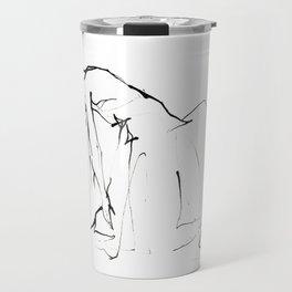 Ballet Dance Drawing Travel Mug