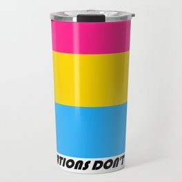 Corporations Don't Love You - Pansexual Pride Travel Mug