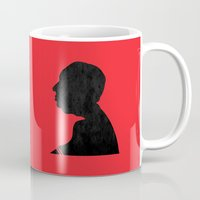 hitchcock Mugs featuring Hitchcock by Vincent Caduc