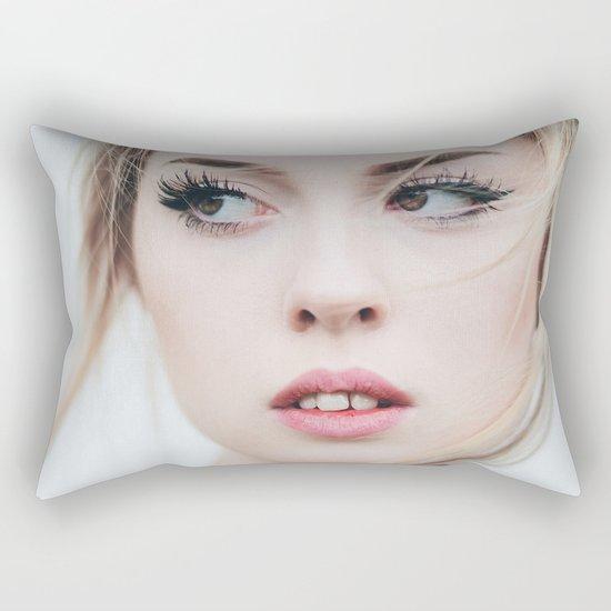 Blond Rectangular Pillow