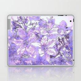 Christmas Bouquet in a purple haze Laptop & iPad Skin